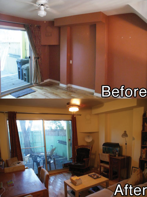 Moving Around Toronto - Before v After
